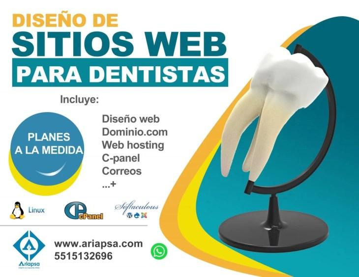 Diseño de sitios web para dentistas en Texcoco y Estado de México