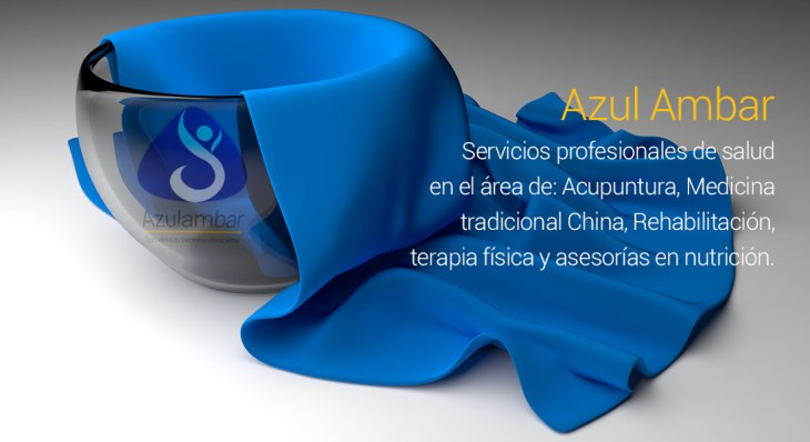 Azul ambar logo aplicaciones