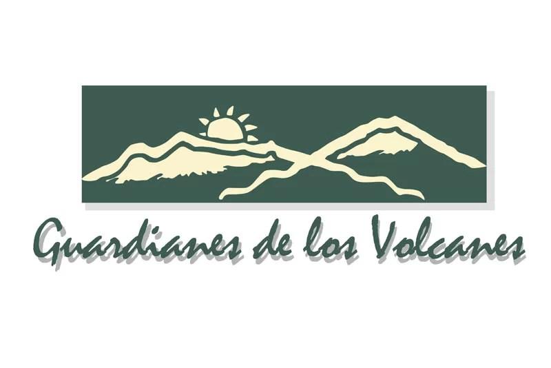 Vectorización de logos Guardianes de los volcanes