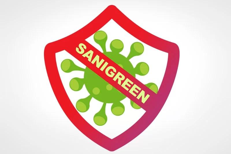 Logo para emprendimiento Sanigreen destacado