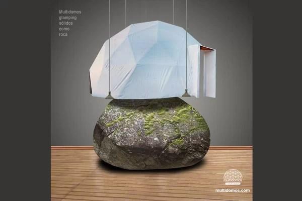 Estructura solida como la roca