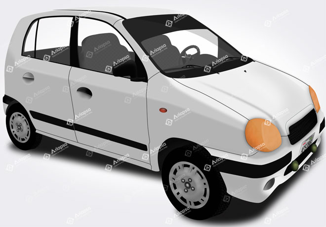 Mock-Up-Automovil-atos-2001