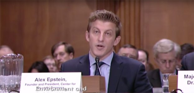 "Fossil Fuels Advocate Alex Epstein Denounces AG Subpoena: ""F**K Off, Fascist"""