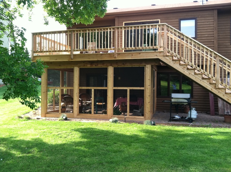 screened in patio under deck » Design and Ideas on Under Deck Patio Ideas id=82806
