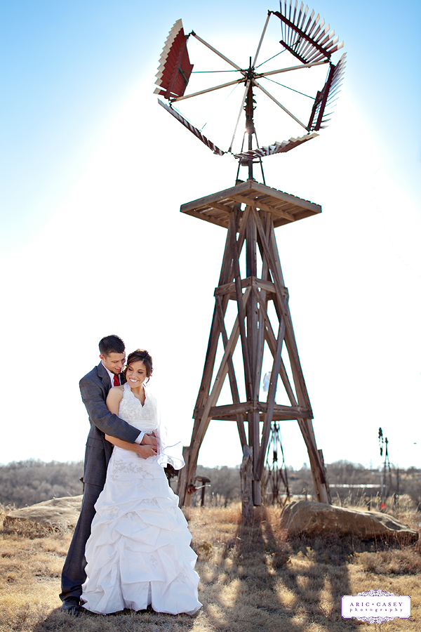 Alston Becker and Jesalyn Bradley's Beautiful, Romantic, Southern, Rustic Wedding at the Lubbock County Windmill Museum in Lubbock Texas photographed by Aric + Casey Lampert of Aric + Casey Photography