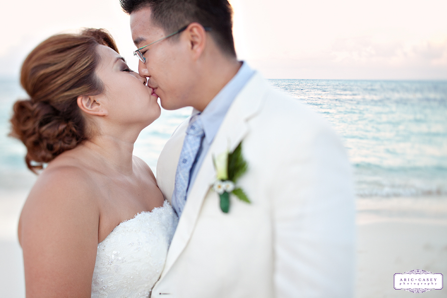Photojournalistic, Fun, Exotic, Romantic Wedding Pictures of Liz Suh and Tom Maeng at the Riu Carribe Resort in Cancun Mexico for their Destination Wedding photographed by Texas, New Jersey and Destination Wedding Photographers Aric + Casey Lampert of Aric + Casey Photography