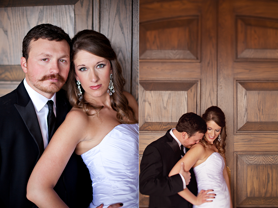 romantic wedding portraits at The Legacy event center in Lubbock Texas