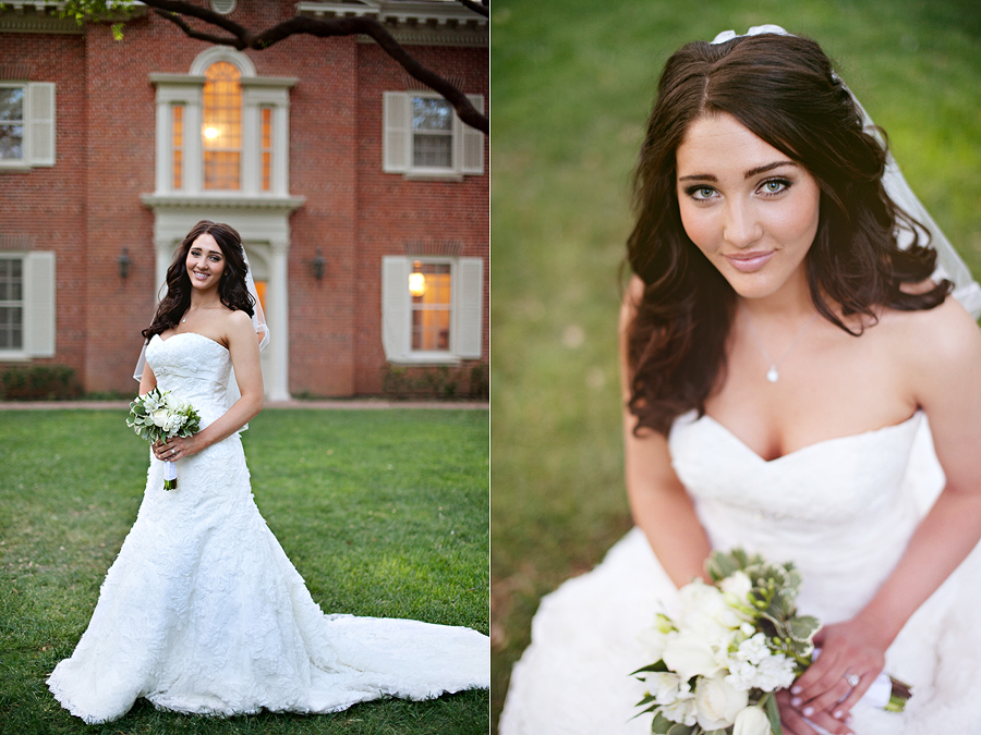 Historic Lubbock Bridal Portrait
