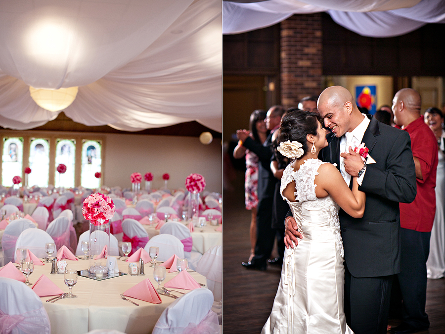 Pink Wedding at The Legacy Lubbock by Lubbock Wedding Photographer Aric + Casey Photography