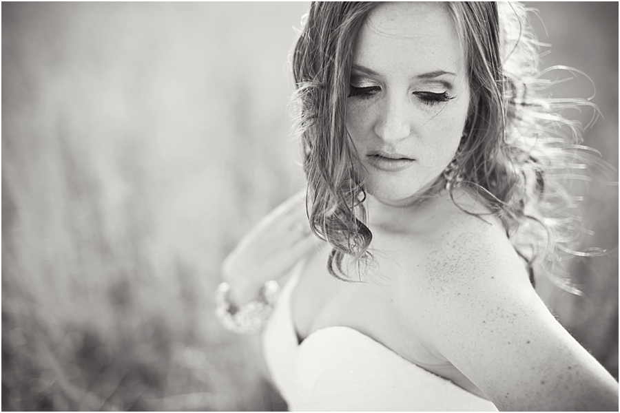 black and white bridal pictures Lubbock