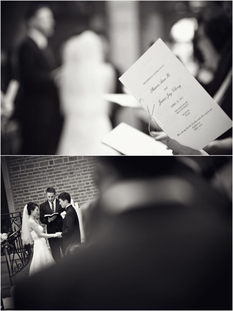 Wedding at Rice University