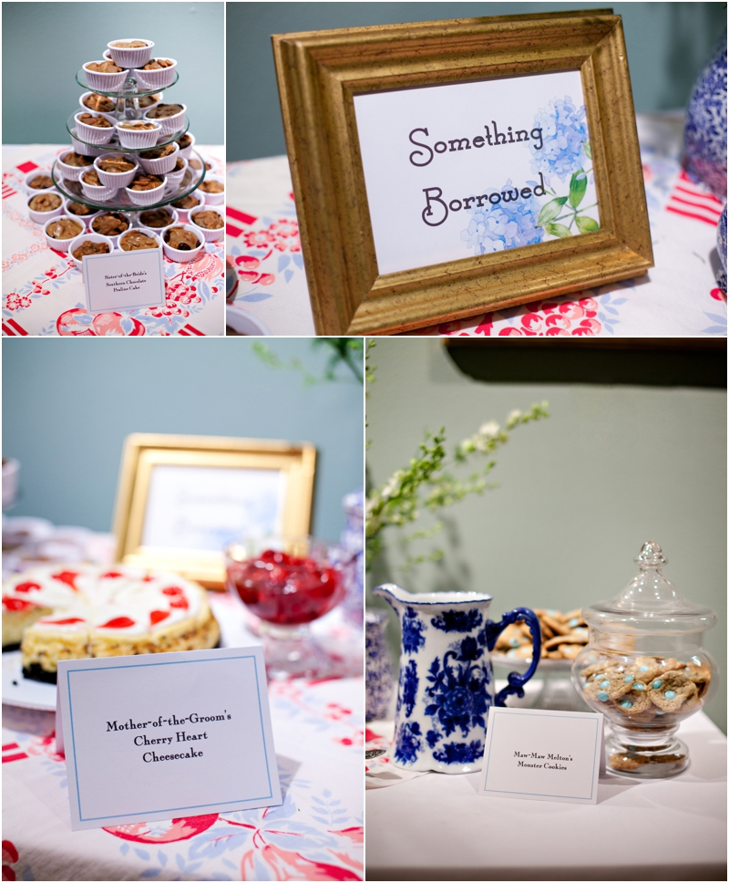something borrowed wedding table