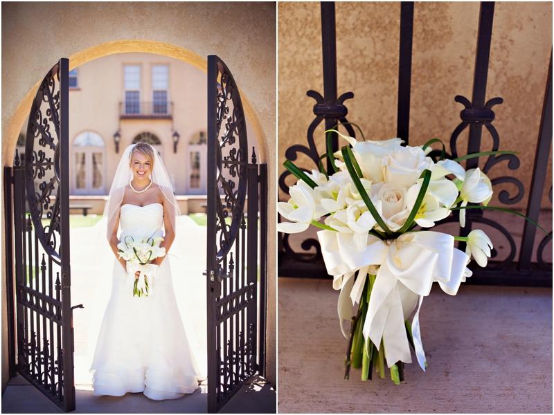 White tulip bouquet merket alumni