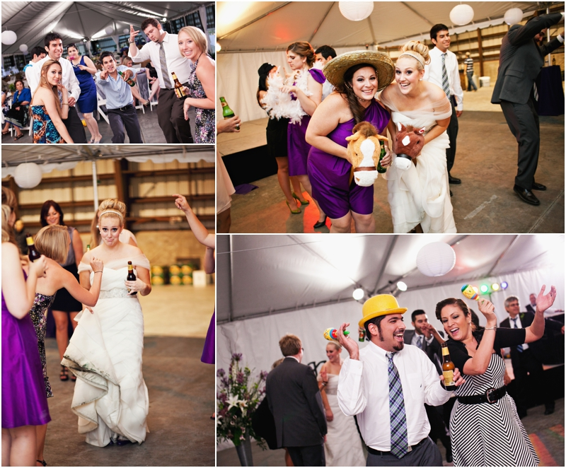 fun dancing reception pictures
