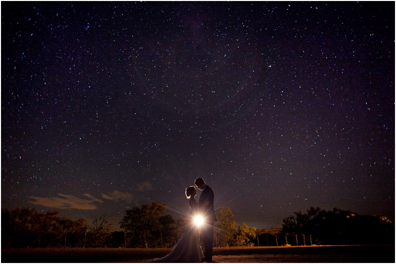 Texas country night sky, night photography with stars, country wedding portrait with starlight