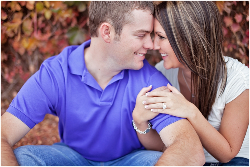 fall engagement pictures in lubbock texas