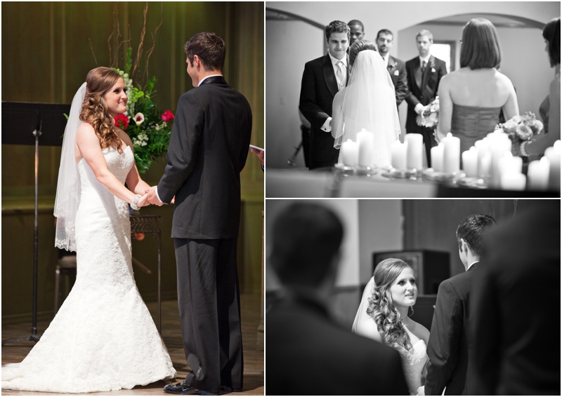 Wedding ceremony at legacy event center
