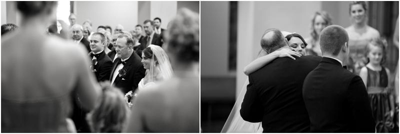 Father giving bride away lubbock wedding photographer