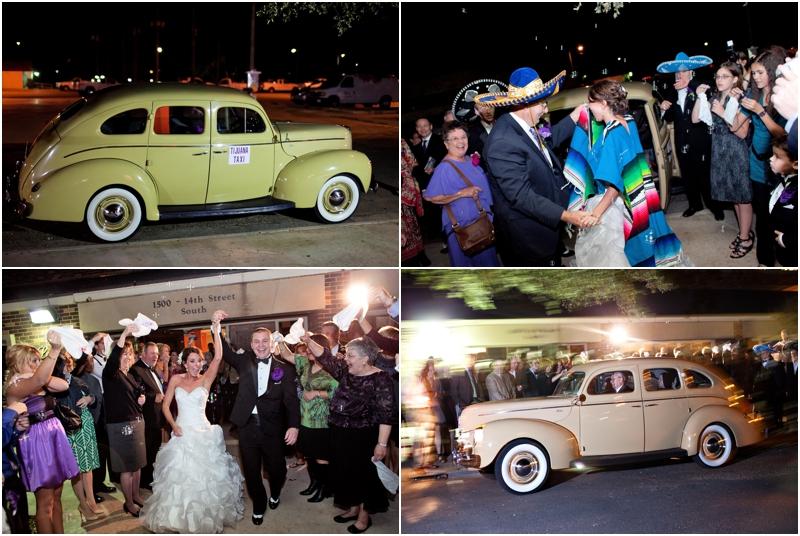 lubbock wedding grand exit