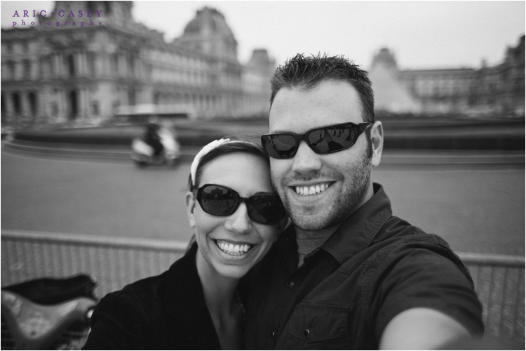 us at the lourve in france