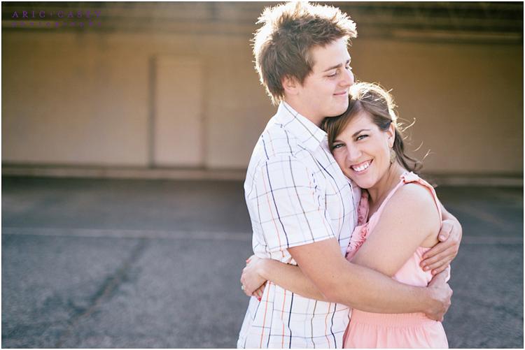 happy engagement photos lubbock photographer