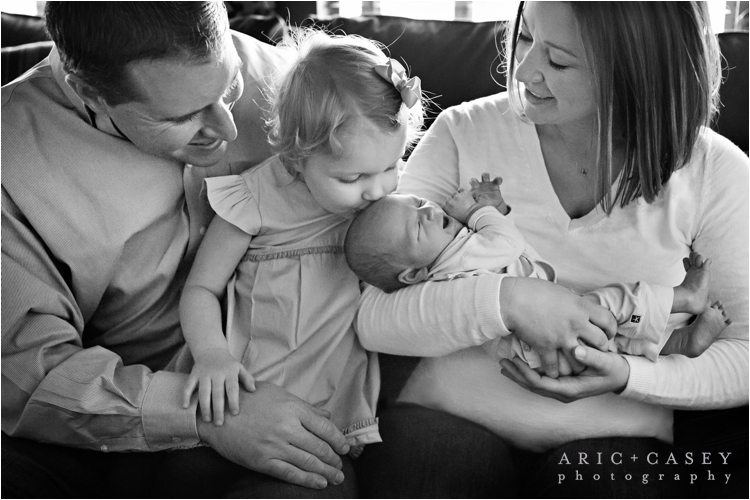 Family and newborn session in lubbock texas