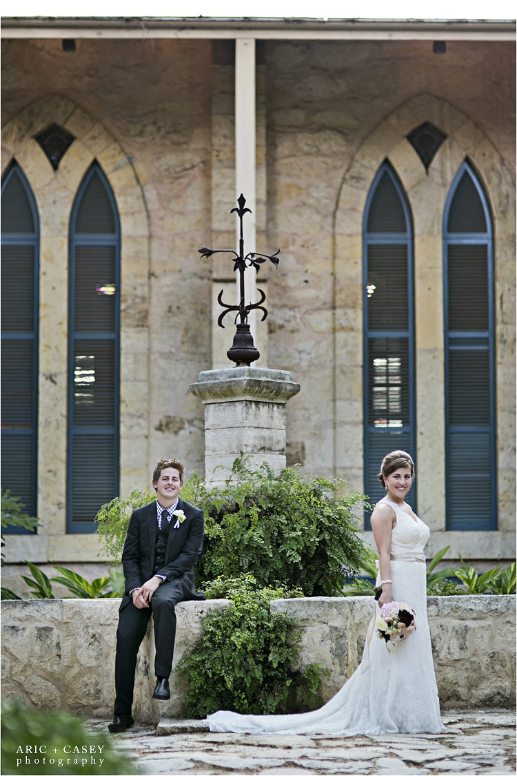 Southwest school of art wedding photos