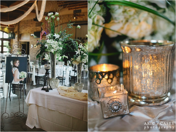 classic wedding details