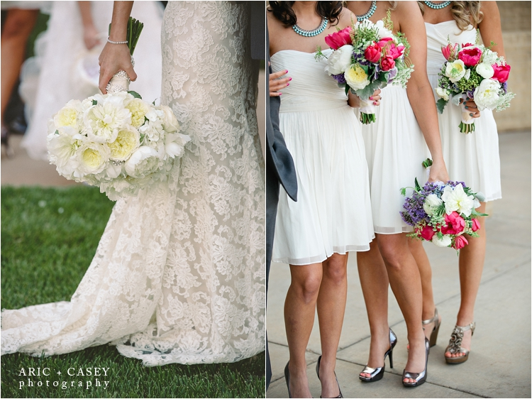 Lou Dee's Floral wedding Boquets