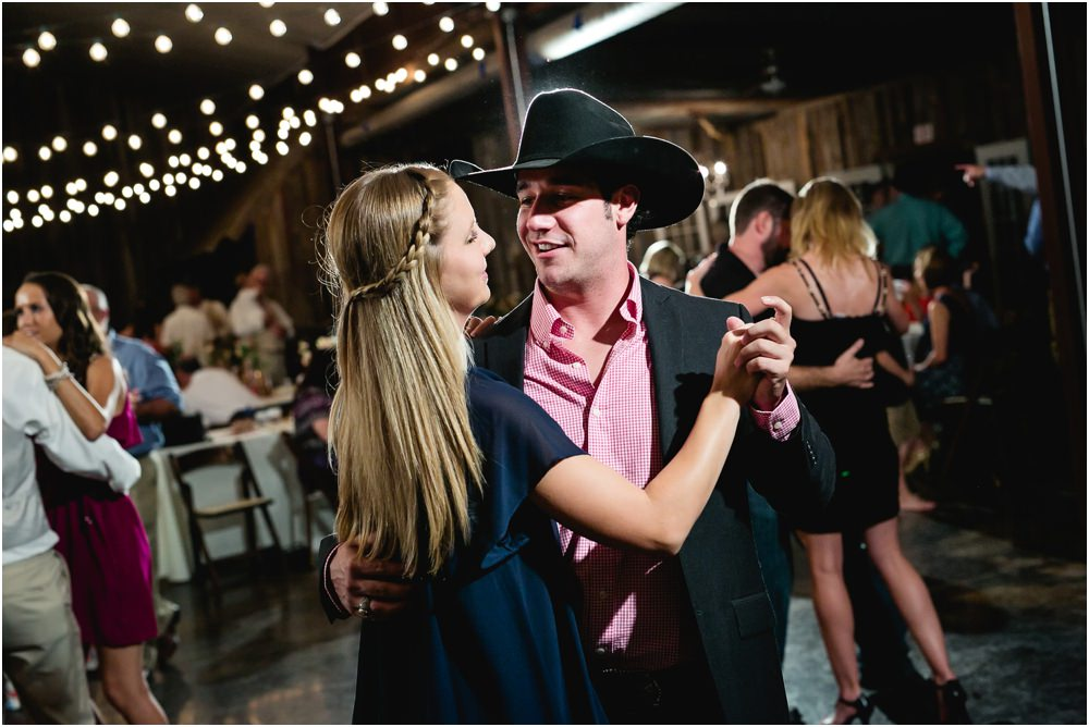 cowboy and girl dancing