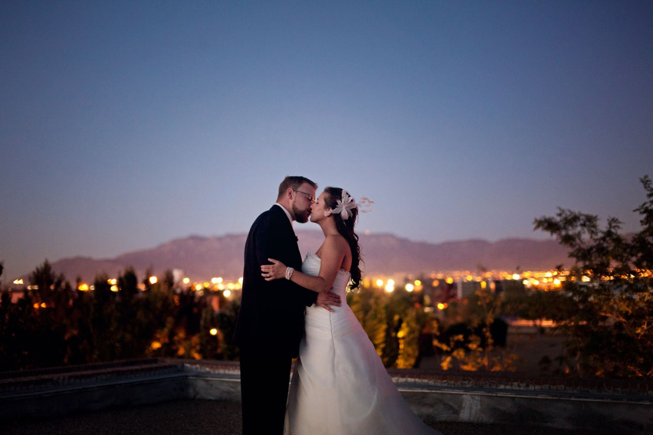albuquerque wedding portrait