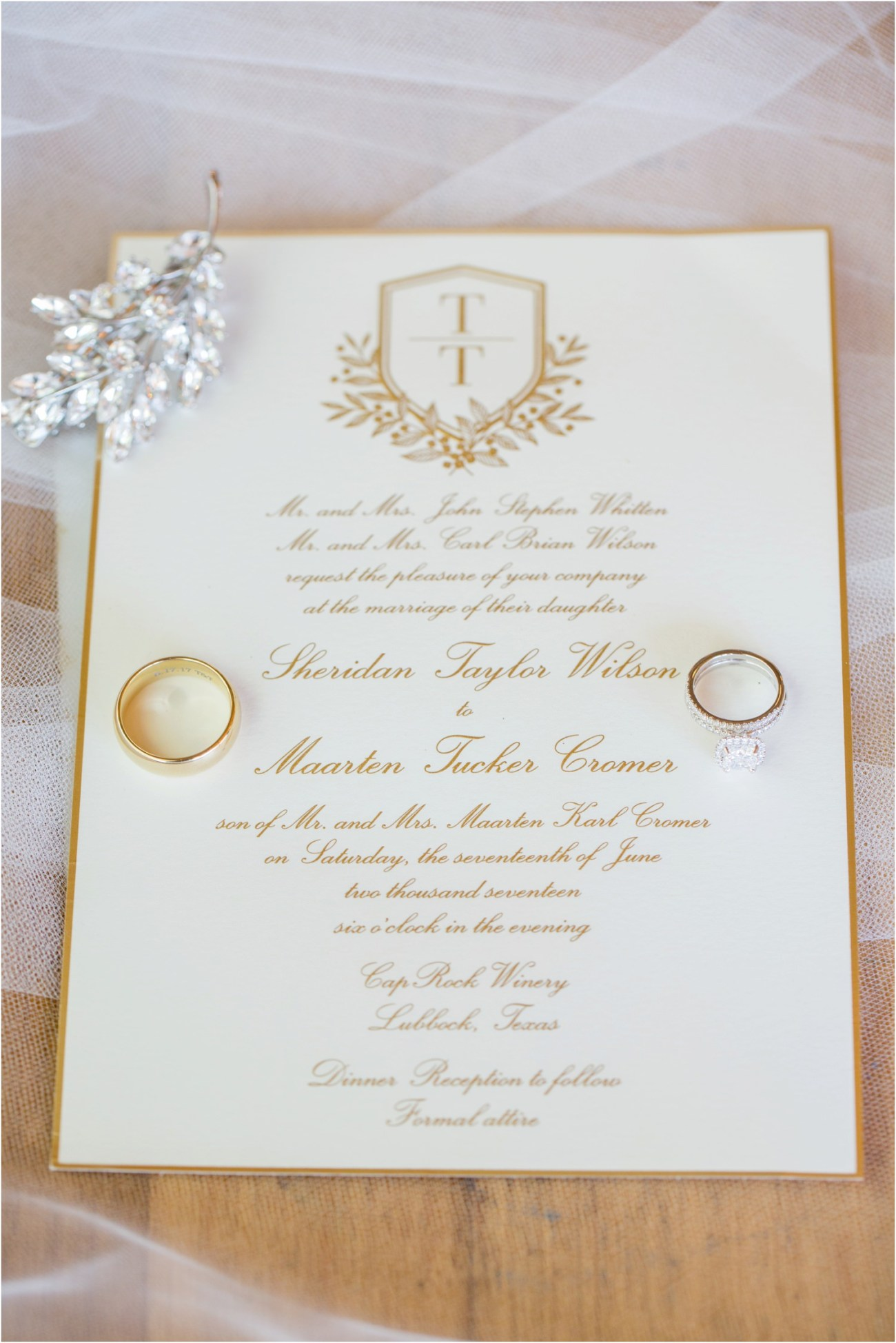 lubbock wedding invitations