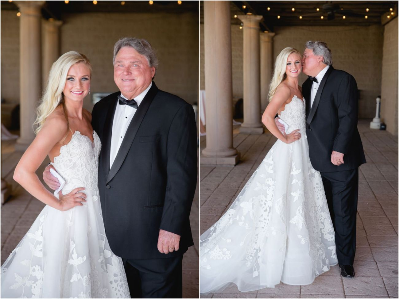 step-dad and bride