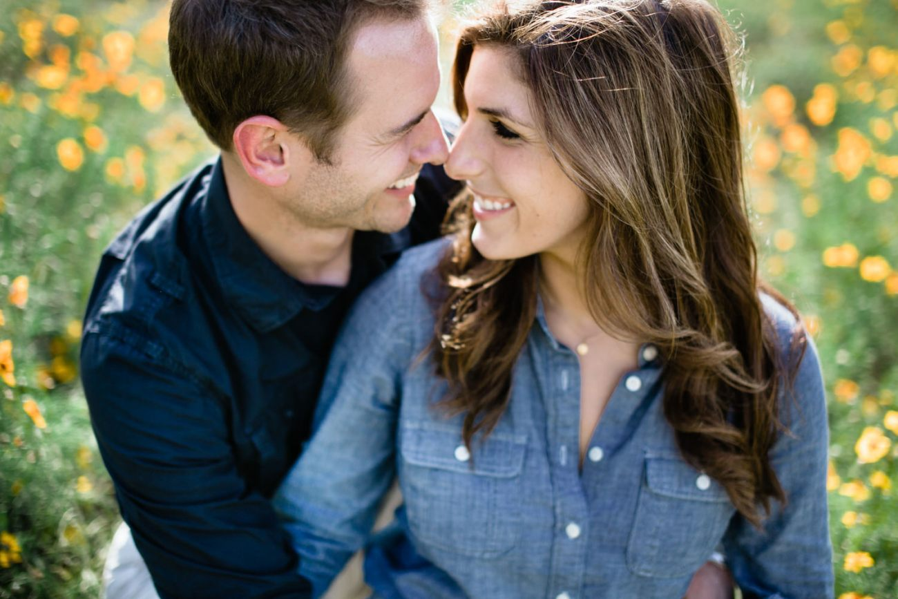 engagement photos in austin hill country