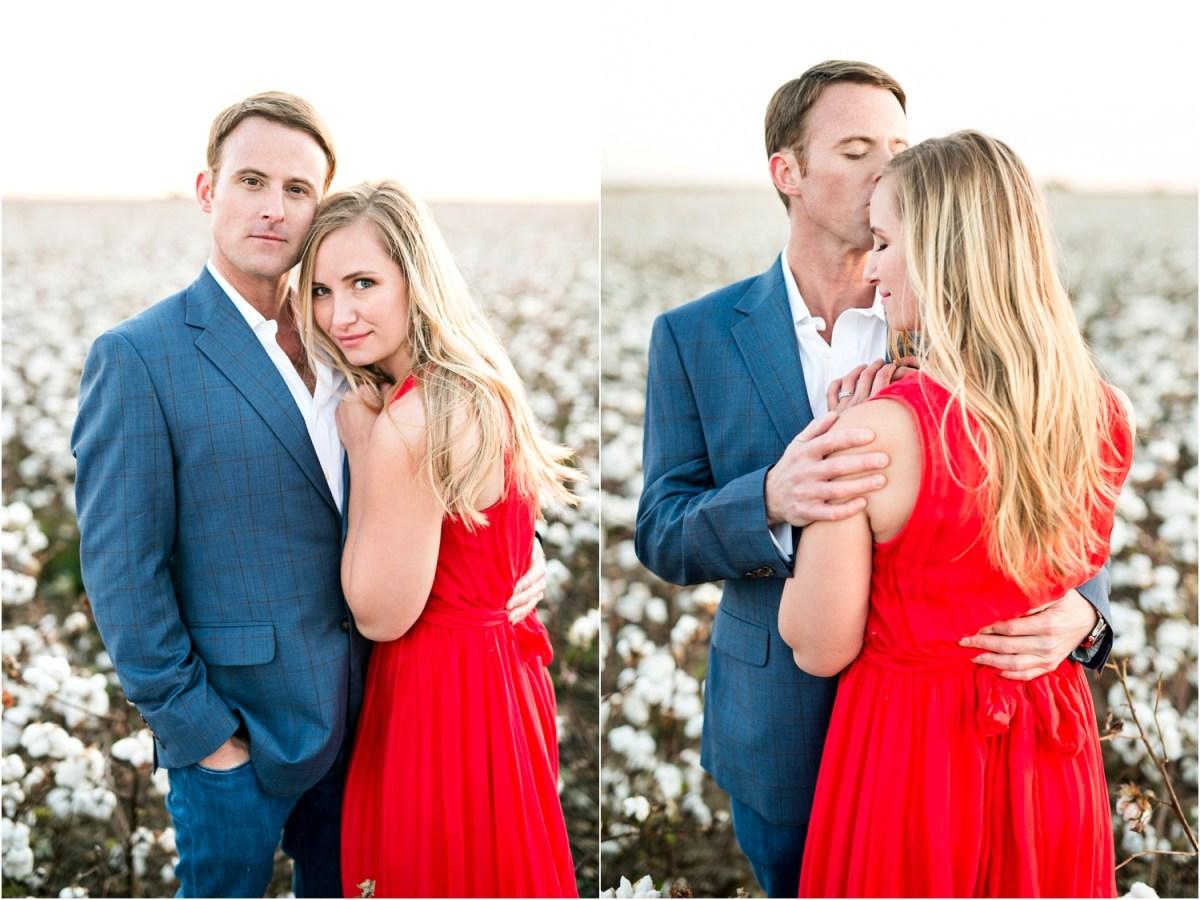 lubbock couple in cotton field