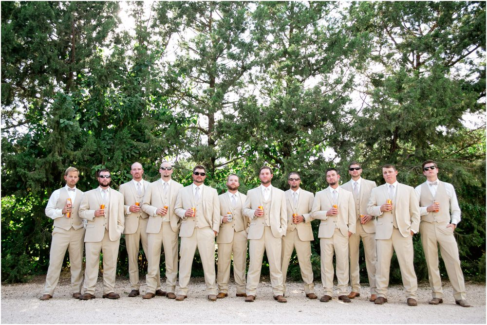 country groomsmen photo