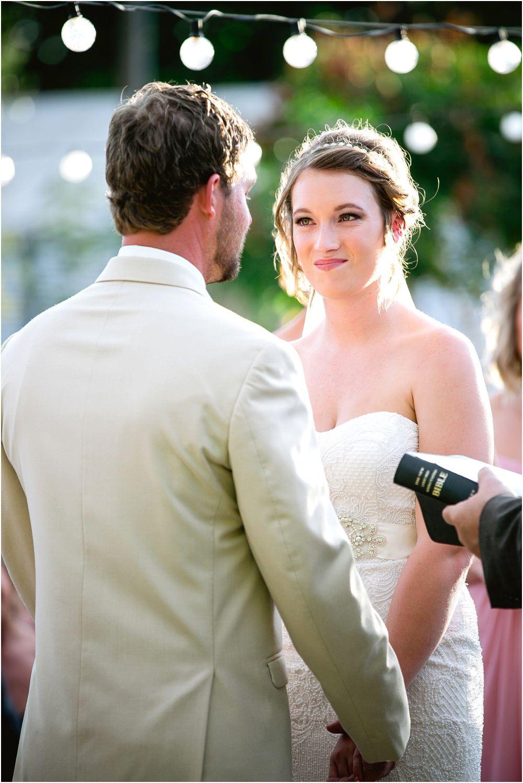 bride's perspective
