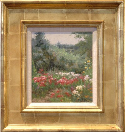 Garden Painting by Timothy R Thies