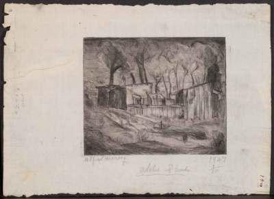 Print by Alfred Morang