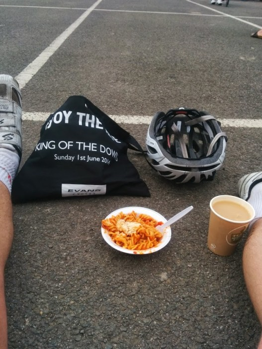 Post race complimentary pasta & goody bag