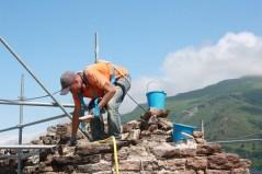 Builder at Chateau de Lordat S