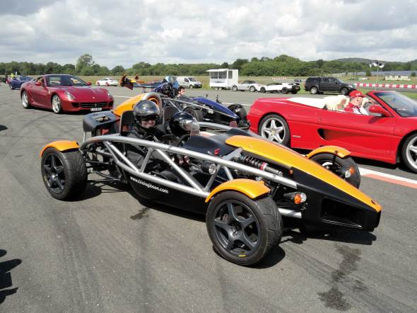 The Supercar Event 2012