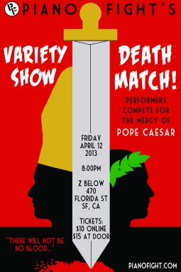 Variety Show Death Match Poster