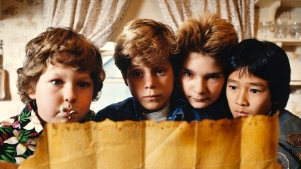 Like many movies from the 90s for children, The Goonies featured a ragtag group of kids looking for adventure. This plot structure is a common staple for children's movies (The Great Panda Adventure, Homeward Bound, Fly Away Home, etc.)