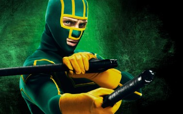 """In the world I lived in, heroes only existed in comic books. And I guess that'd be okay, if bad guys were make-believe too, but they're not."" Kick-ass fights to make his world better as the vigilante superhero of his neighborhood, but his questionable techniques inspire others to do the same, to sometimes deadly consequence."