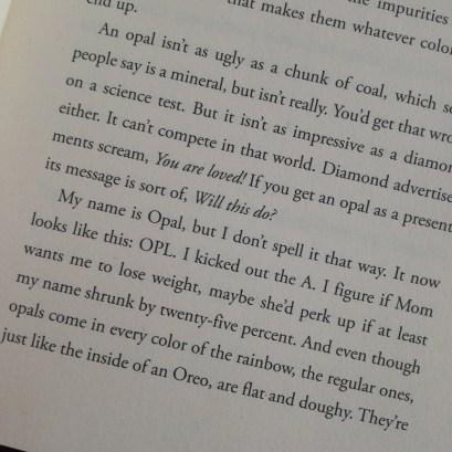 Dear Opl Excerpt, by Shelley Sackier