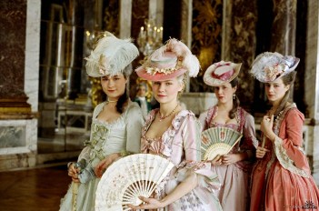 Though Marie Antoinette was a real person in history, the movie adaptation of the same name creates a persona that embellishes just enough to add her to this fiction-centric list.