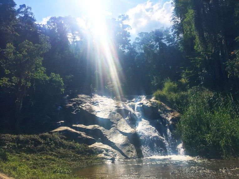 Mor Paeng Waterfall in Pai