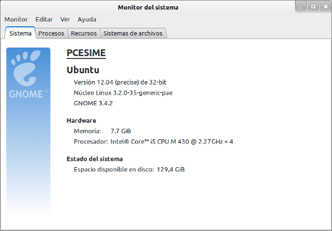 Ubuntu a 32 bits con 8 GB de RAM