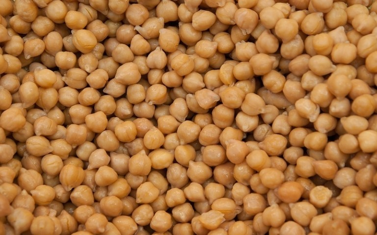 Picture of chickpeas